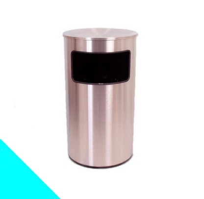 Papelera Cilíndrica con tapa superior CL160T  –  REF. 0110